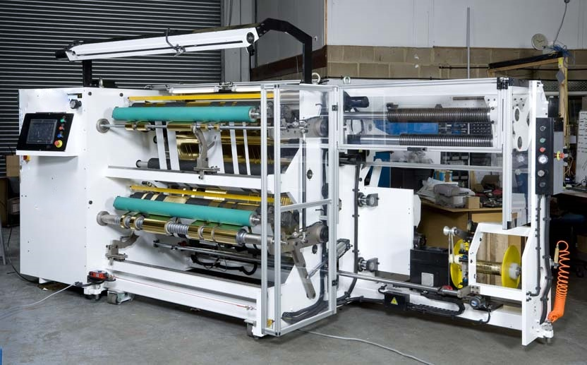Hot Stamp Foil Slitter Rewinds From Advanced Converting