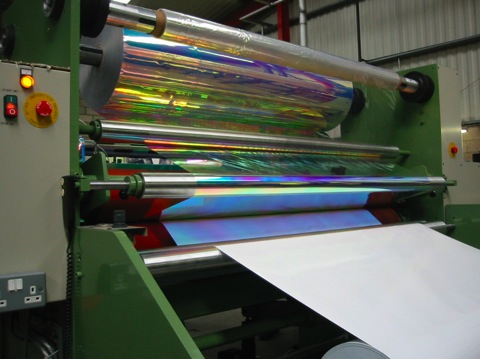 Holographic Embossing Machines From Advanced Converting